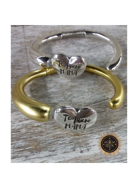 Te quiero mamá 4 soles bracelet