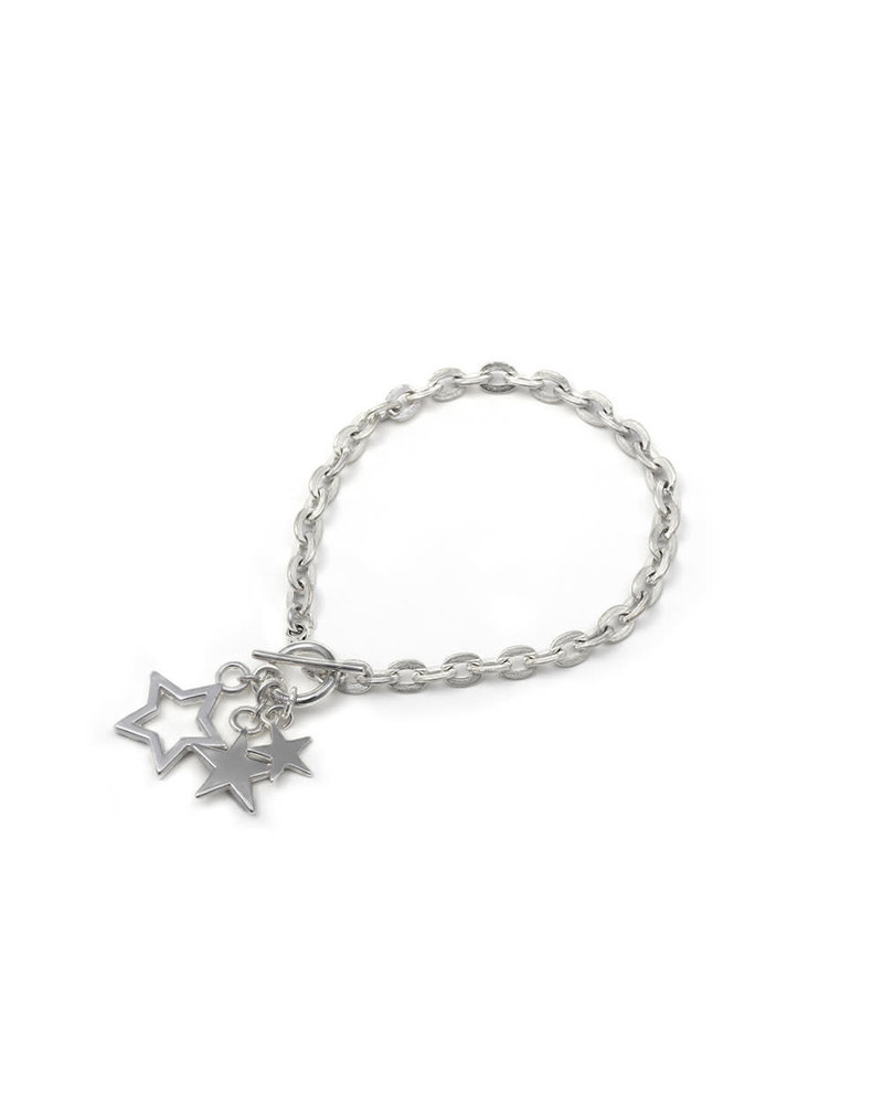 CHAIN BRACELET STARS TRIS