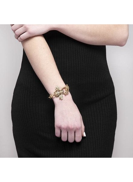 Katie Bee Bracelet 22k