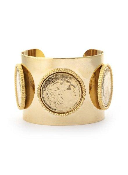 Culver Gold Cuff 22k