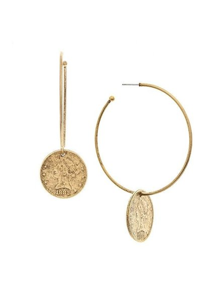 Vera Coin earrings