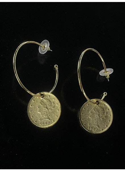 22k Gold plated or Silver Earrings