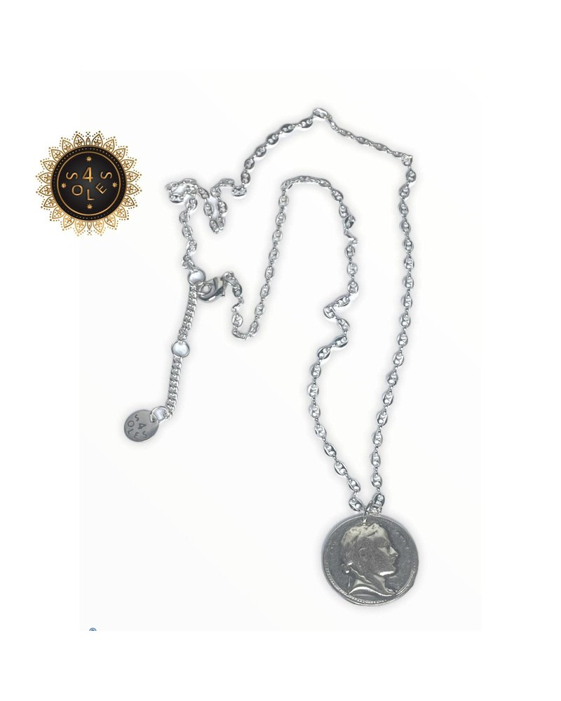 n5660 coin Necklace 4 soles