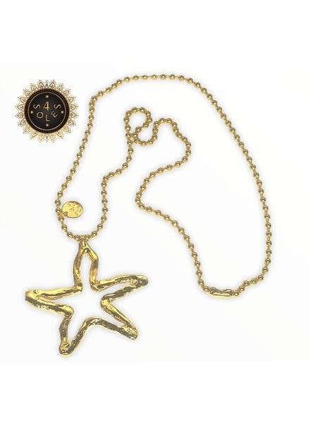 n5661 Sea Star 1 Necklace 4 Soles