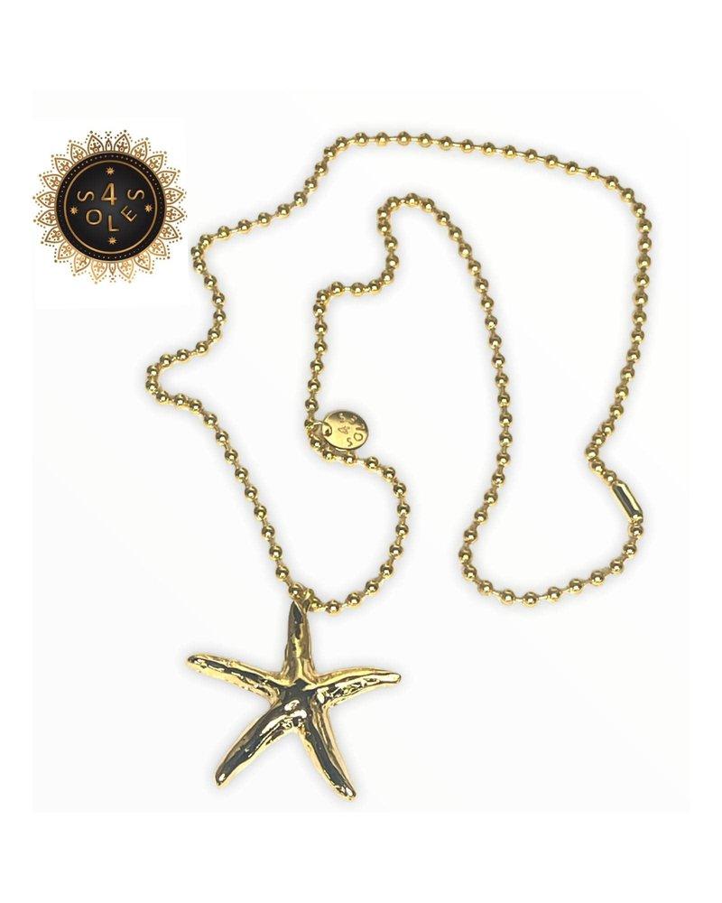 Copy of n5661 Sea Star 1 Necklace 4 Soles