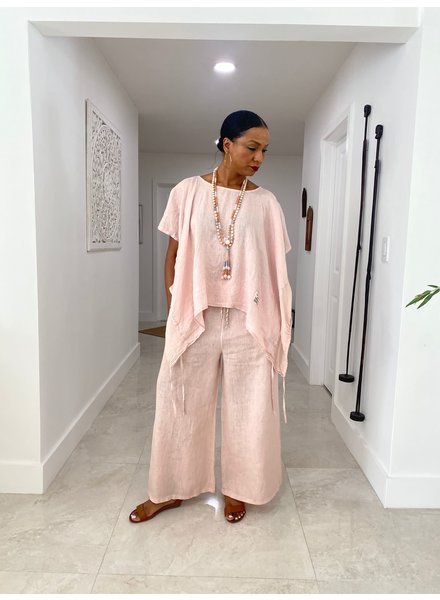 High Quality Palazzo linen pant One size