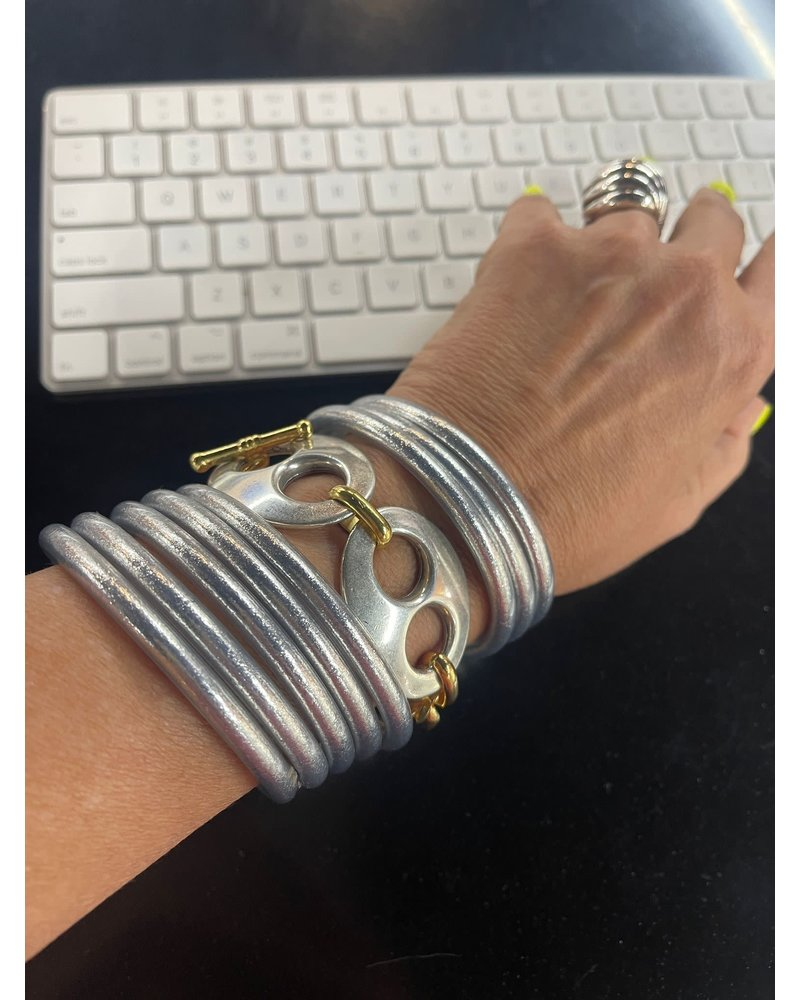Double big mariner Bracelet