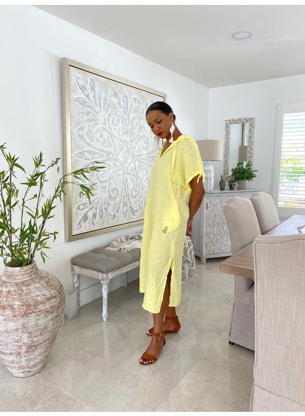 High Quality Linen Dress One Size
