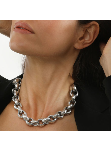 NECKLACE CHAIN RONDE COURT