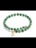 Brazalete bangle agata verde