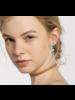 """11/2"""" silver  Hoop Earrings"""