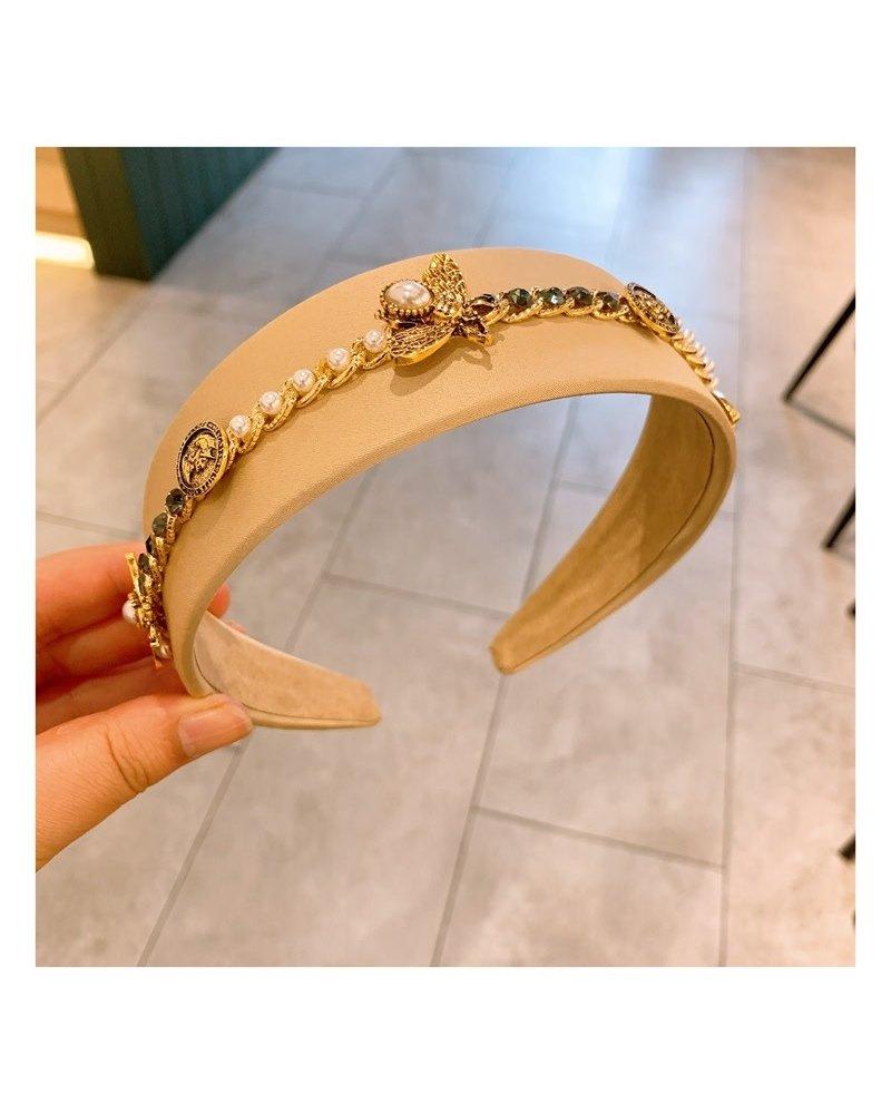 Diamond Bee/Pearl Headband