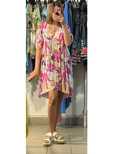 floral dress one size