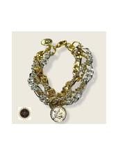Doble Chain Bracelet by 4 Soles
