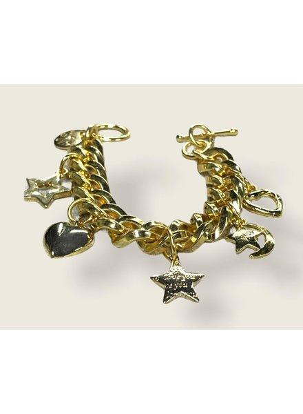 Multi Charms 4 Soles bracelet