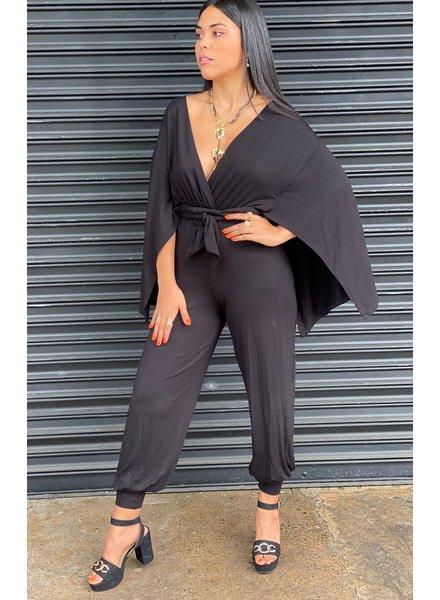 Exclusive Black Designer Jumpsuit