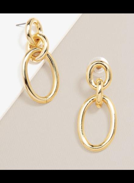 Three Link Drop Earring | Quality Fashion Earrings