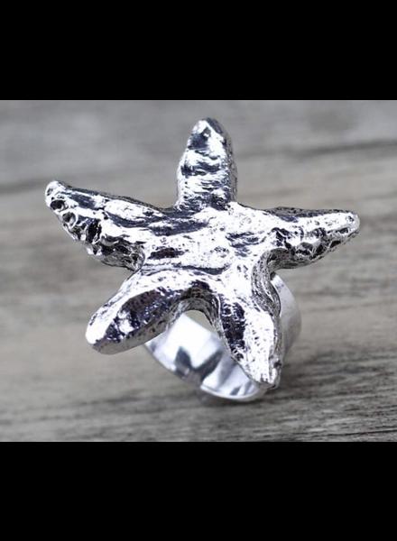 Starfish   Adjustable Ring