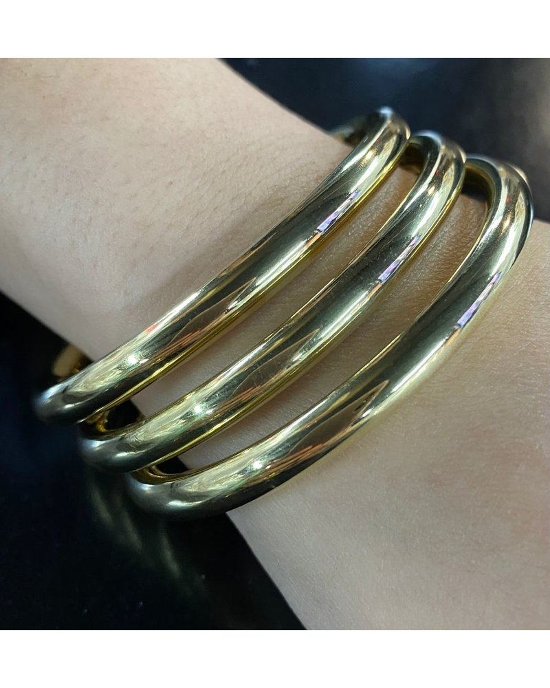 Gold Bangles by 4 soles