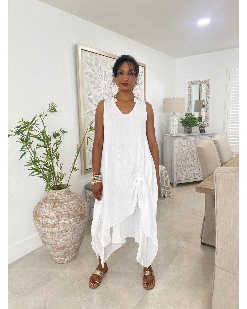 Cotton Dresses No Sleeve