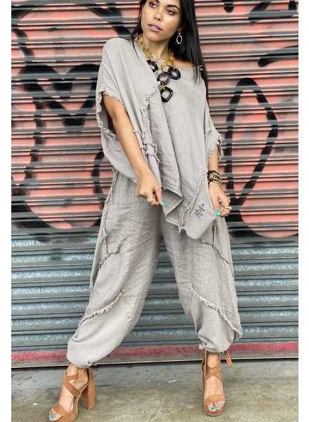 Pant Linen And Gauze One Size