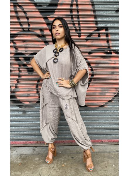 Top Linen And Gauze One Size