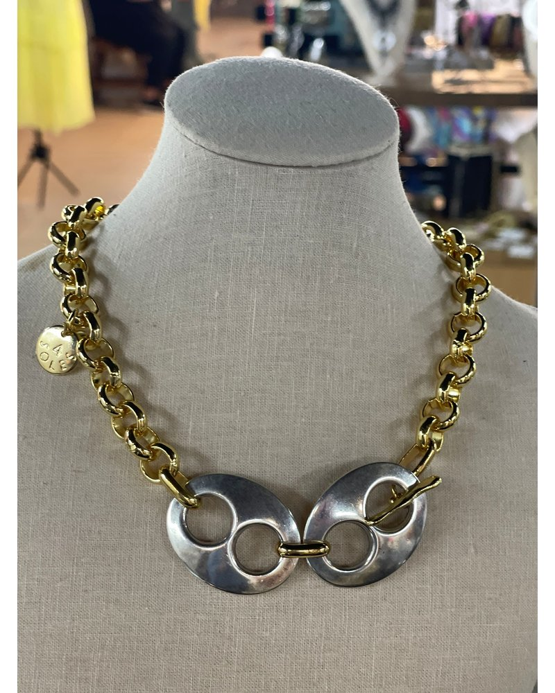 Double mariner Necklace by 4 Soles