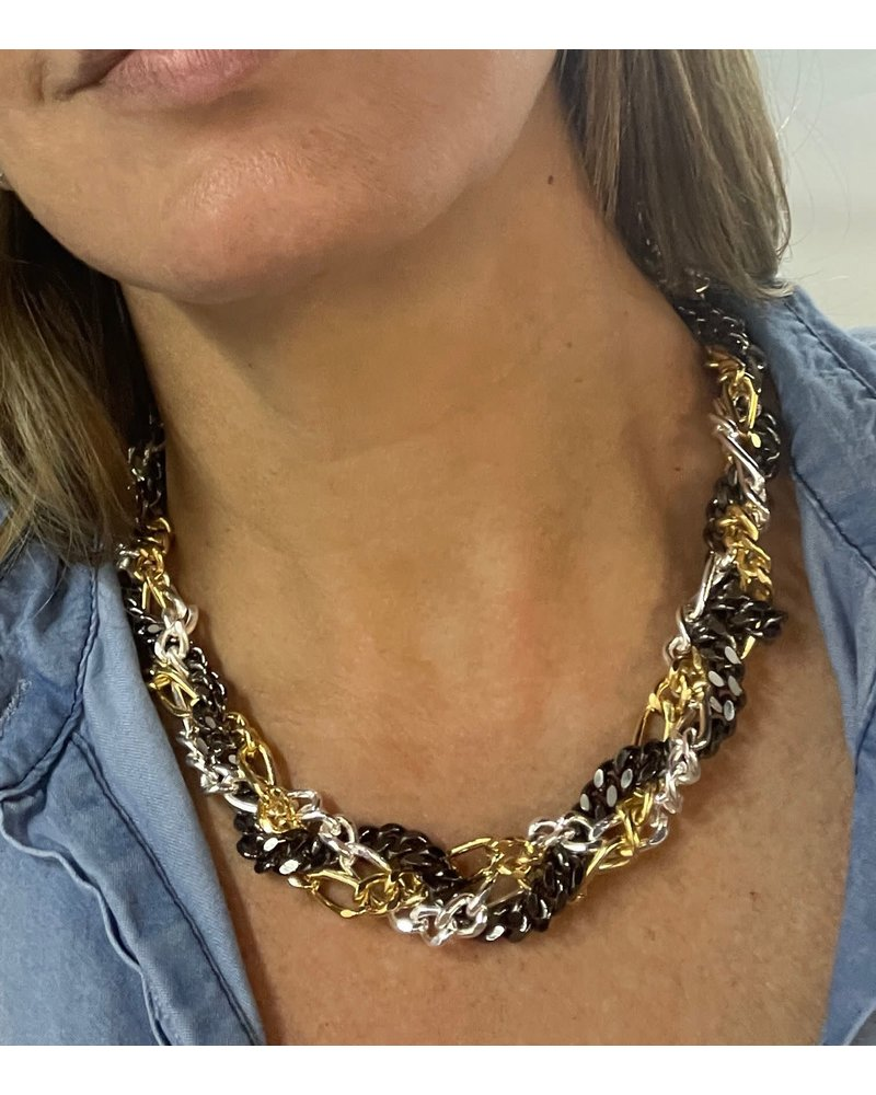 Braided Necklace by 4 Soles