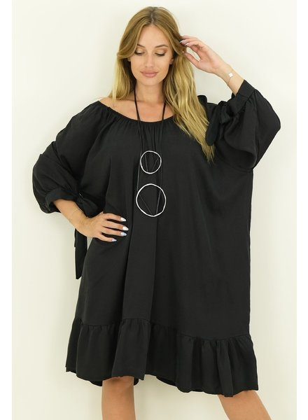 Oversized Tencel Dress One Size