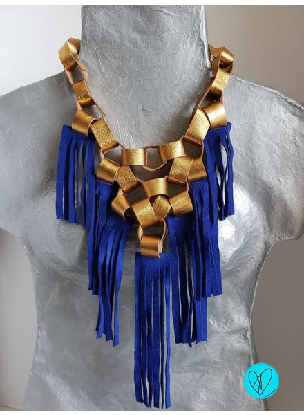 Hand made Leather Necklace