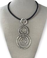 Zamac Circle Necklace