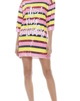 IT'S MY BIRTHDAY MULTI SEQUIN T-SHIRT DRESS