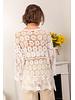 Crochet Cardigan Beige