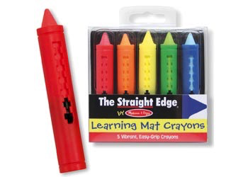 M&D - Learning Mat Crayons