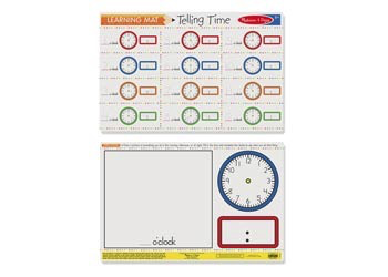 M&D - Telling Time Write-A-Mat