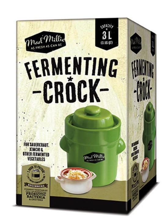 Mad Millie Fermenting Crock