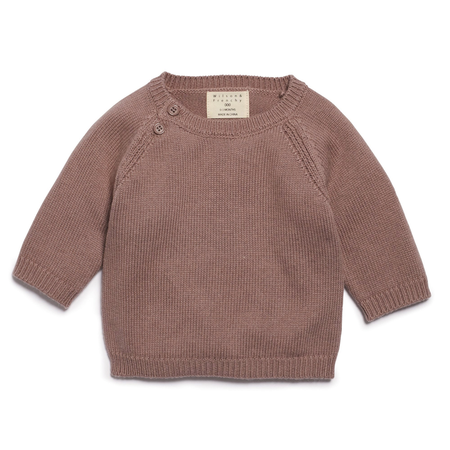 WOOD KNITTED JUMPER -12-18 months