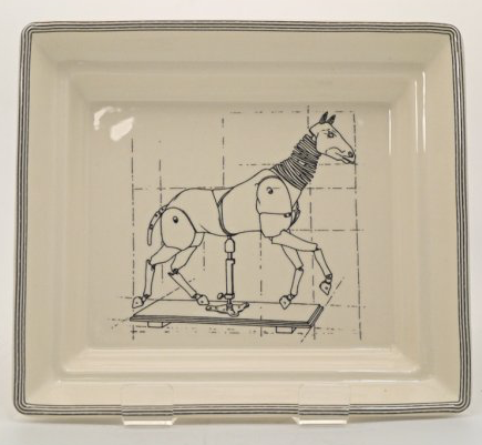 HALL TRAY - Artists horse