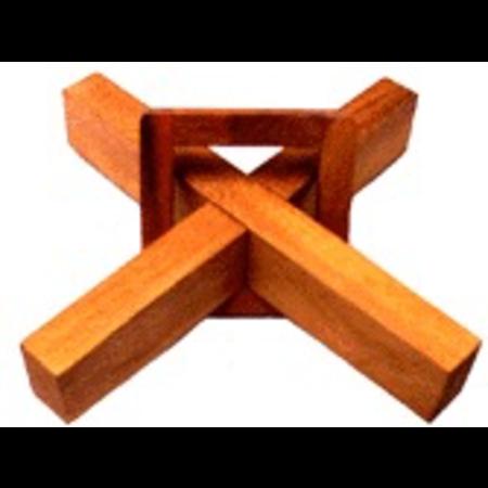 Cross & Square Ring