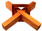 Cross & Square Ring