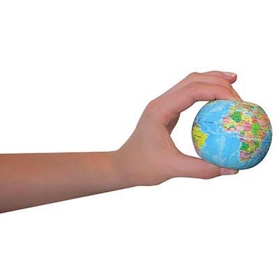 Earth Stress Ball 75mm