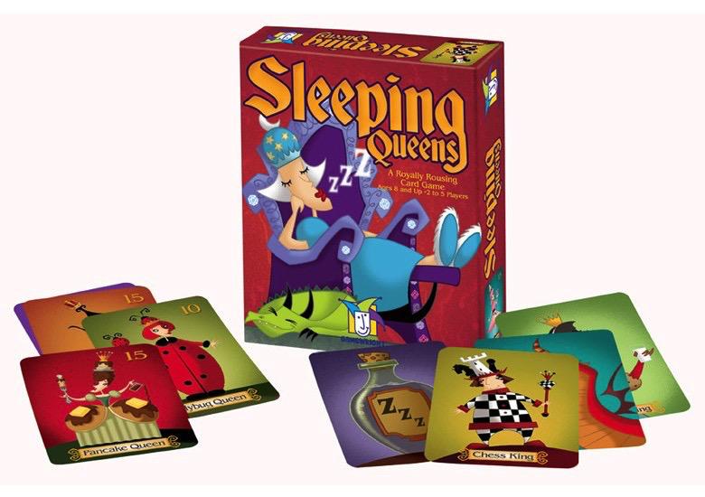 SLEEPING QUEENS Card Game