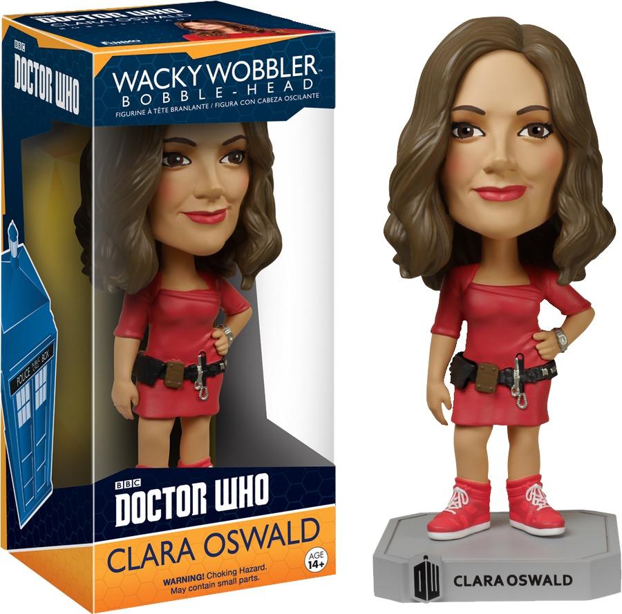 Dr Who - Clara Oswald Wacky Wobbler