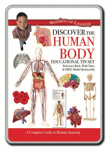 Human Body Tin Set