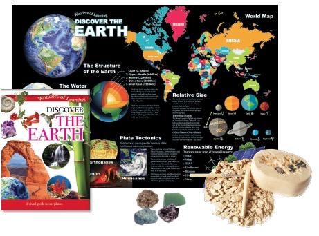 Discover the Earth Tin Set
