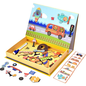 Mleredu Magnetic Toy:Magnetic Art Case Vehicles