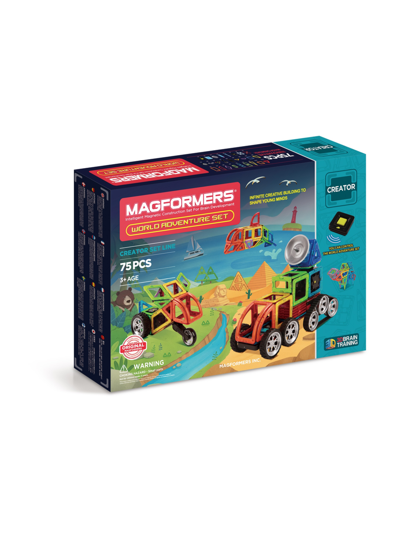 Australia World Adventure Set 75  MAGFORMERS