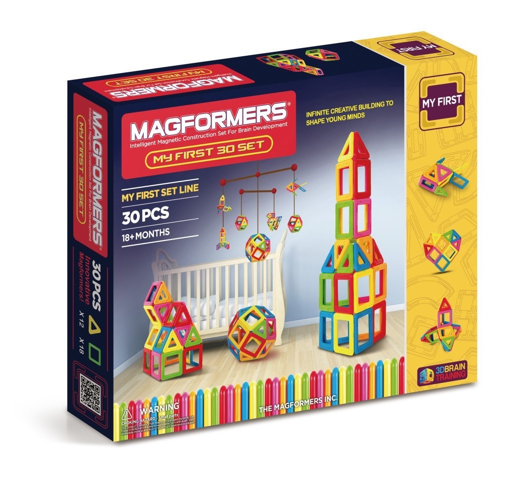 My First Magformers 30 MAGFORMERS