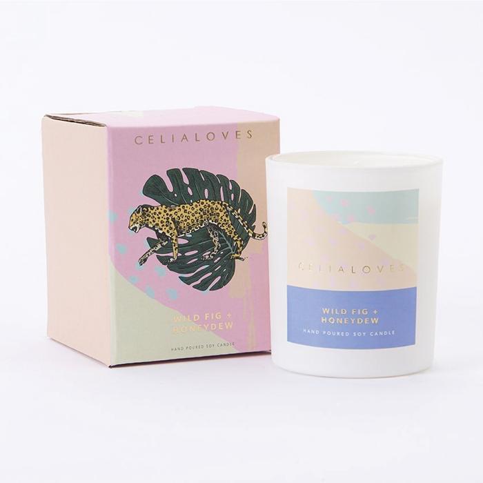 80 hr Wild Fig + Honeydew Candle (N/A)