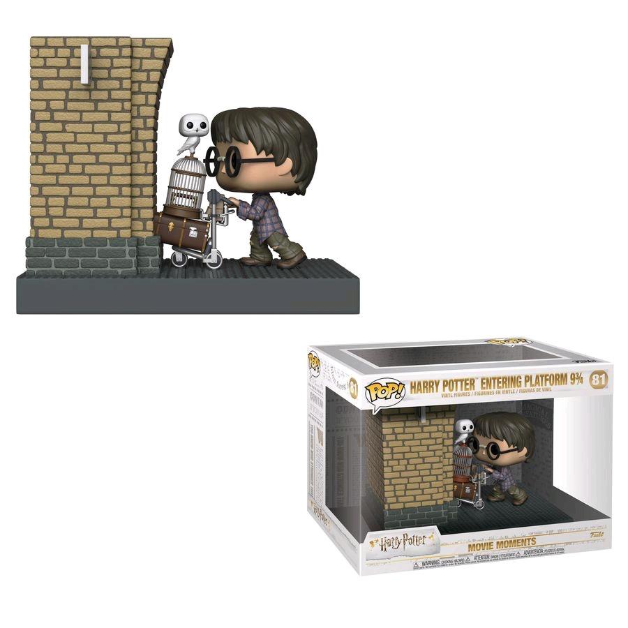 Harry Potter - Harry Platform 9 3/4 MM Pop!